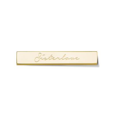 Buy Take What You Need Gold Toned Sisterlove Bar