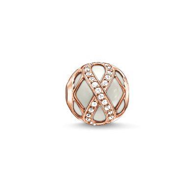 Buy Thomas Sabo Rose Gold Infinity Karma Bead