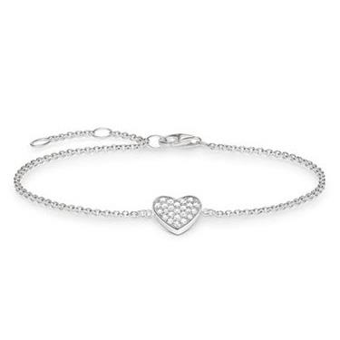 Buy Thomas Sabo CZ Heart Bracelet19cm