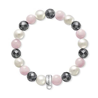 Buy Thomas Sabo Pink Mix Beaded Medium Bracelet