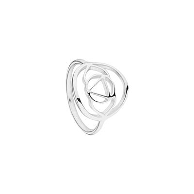 Buy Daisy Brow Chakra Silver Ring Large