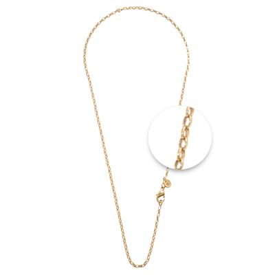 Buy Nikki Lissoni Thin 45cm Yellow Gold Chain