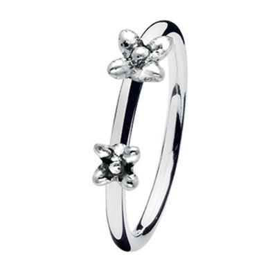 Buy Spinning Denmark Twin Flowers Ring L