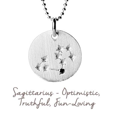 Buy Mantra Sagittarius Star Map in Silver