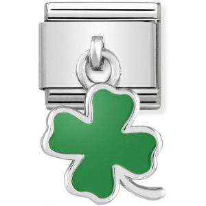 Buy Nomination Hanging Green Clover Charm