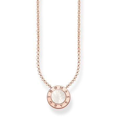 Buy Thomas Sabo Glam & Soul Rose Gold Classic Mother of Pearl Necklace