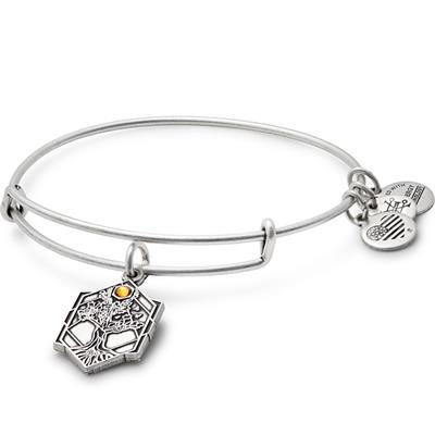 Buy Alex and Ani Tree of Life Disc bangle in Rafaelian Silver Finish