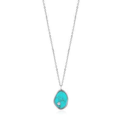 Buy Ania Haie Turning Tides Turquoise & Silver Necklace