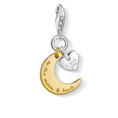 Buy Thomas Sabo To The Moon & Back Charm