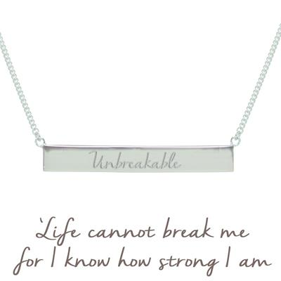 Buy Mantra Holly Matthews Unbreakable Bar Necklace