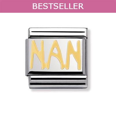 Buy Nomination Gold Nan Charm