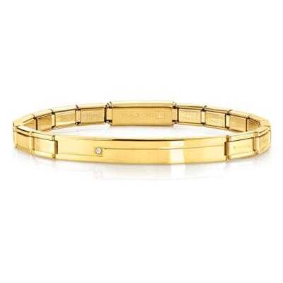 Buy Nomination Gold Trendsetter Extension Bracelet with CZ