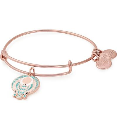 Buy Alex and Ani Falcon Colour Infusion Bangle in Shiny Rose Gold