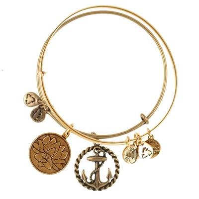 Buy Alex and Ani Stay Anchored in Rafaelian Gold