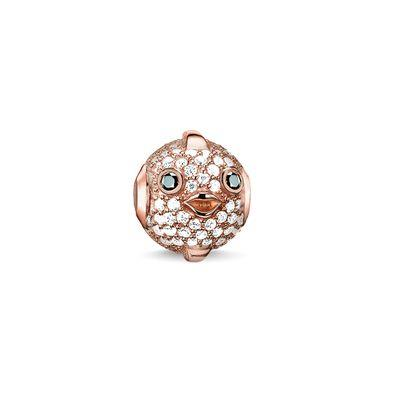 Buy Thomas Sabo Pufferfish Rose Gold Karma Bead