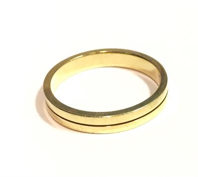 Buy Precious Gems Wedding Band With Yellow And White Gold Size O