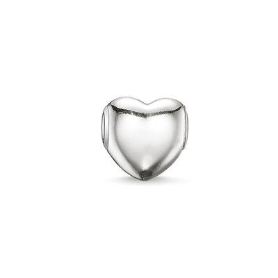 Buy Thomas Sabo Silver Heart Karma Bead