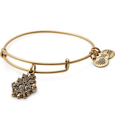 Buy Alex and Ani Armenian Cross II bangle in Rafaelian Gold