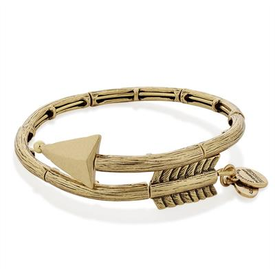 Buy Alex and Ani Lovestruck Arrow Wrap in Rafaelian Gold