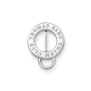 Buy Thomas Sabo Logo Silver Charm Carrier