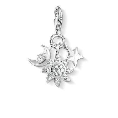 Buy Thomas Sabo Sun, Moon and Star Cluster Charm