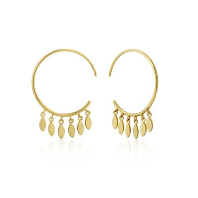 Buy Ania Haie All Ears Gold Multi-Drop Hoop Earrings