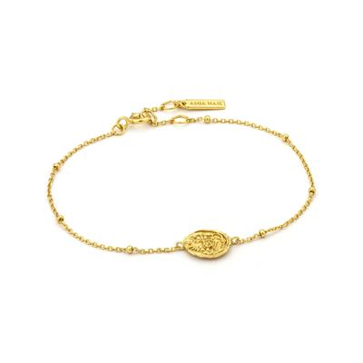 Buy Ania Haie Gold Medallion Coin Bracelet