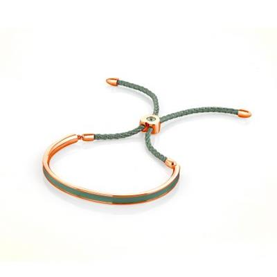 Buy FervorMontreal Mi Amore Mint Green Rose Gold Bracelet