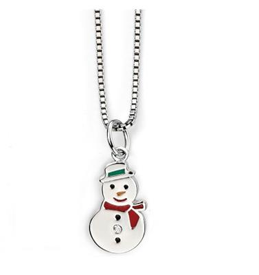 Buy DforDiamond D for Diamond Snowman Pendant