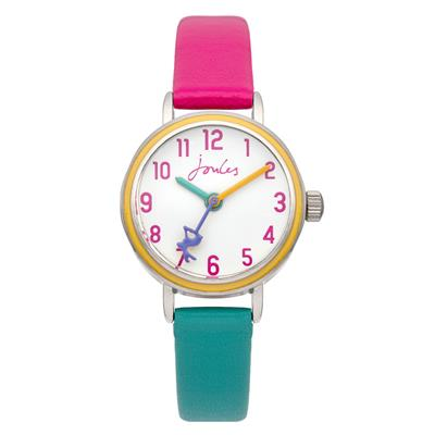 Buy Joules Mint and Pink Kids Watch