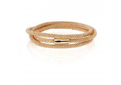 Buy Pure Attraction Gold Wrap Bracelet