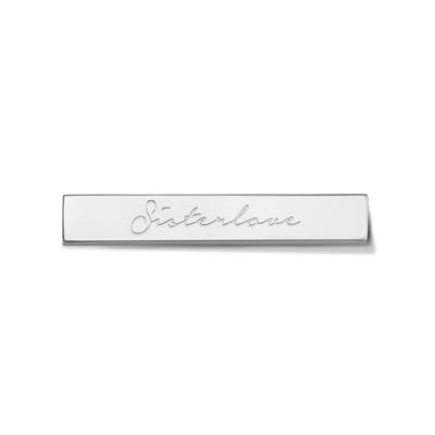 Buy Take What You Need Silver Toned Sisterlove Bar