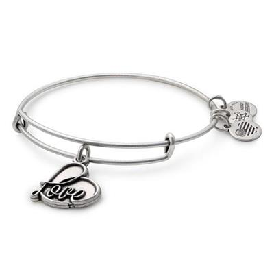 Buy Alex and Ani Love IV in Rafaelian Silver