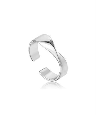 Buy Ania Haie Silver Helix Twist Ring