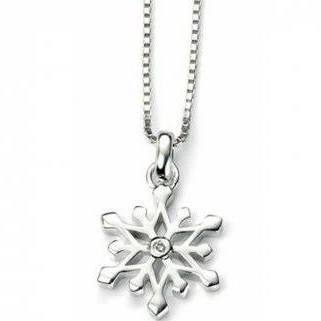 Buy DforDiamond Snowflake Necklace
