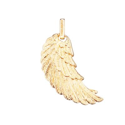 Buy Engelsrufer Gold Angel Wing Pendant Large