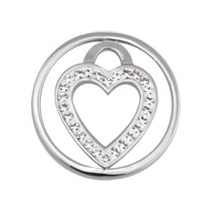 Buy Nikki Lissoni Love Keeper Small Silver Coin