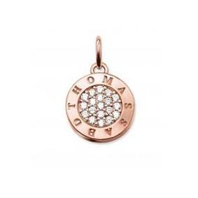 Buy Thomas Sabo Rose Gold CZ Disc Pendant