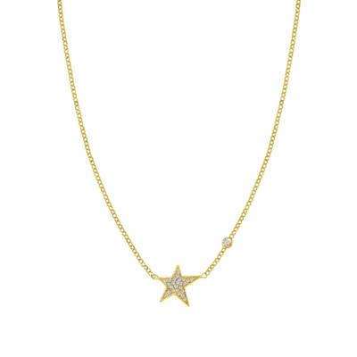 Buy Nomination Gold CZ Stella Necklace