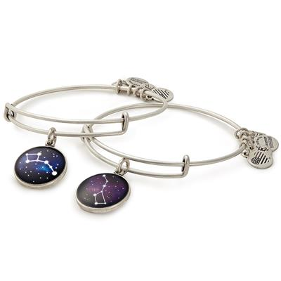 Buy Alex and Ani Big and Little Dipper Set of 2 in Rafaelian Silver