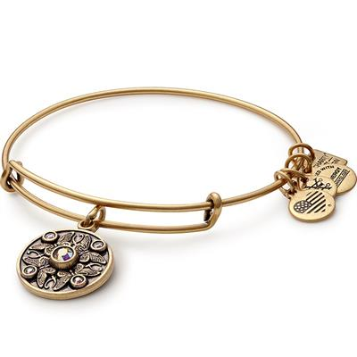 Buy Alex and Ani Wings of Change Transformation Bangle in Rafaelian Gold