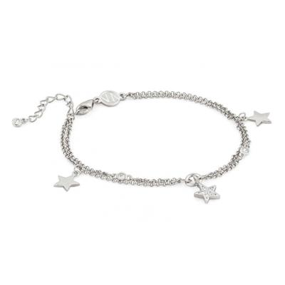Buy Nomination Silver CZ Stars Double Bracelet AW19