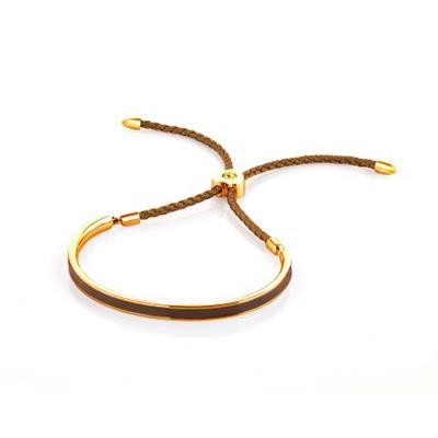 Buy FervorMontreal Mi Amore Brown Gold Bracelet