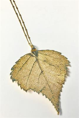Buy Blowing in the Wind Jumbo Gold Birch Leaf