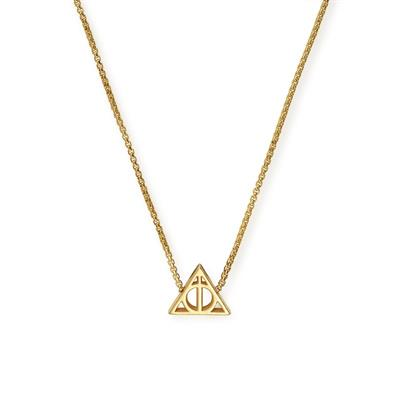 Buy Alex and Ani Harry Potter Deathly Hallows Precious Necklace in Gold