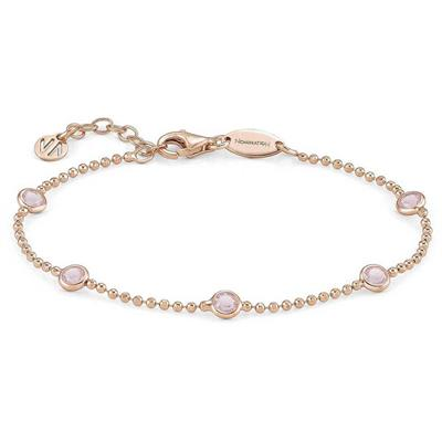 Buy Nomination Rose Gold Pink CZ Bella Bracelet