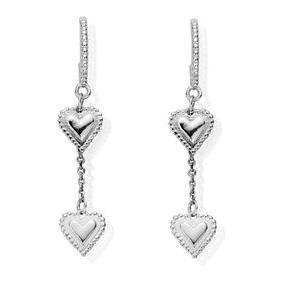 Buy ChloBo Cherabella Graceful Heart Drop Earrings