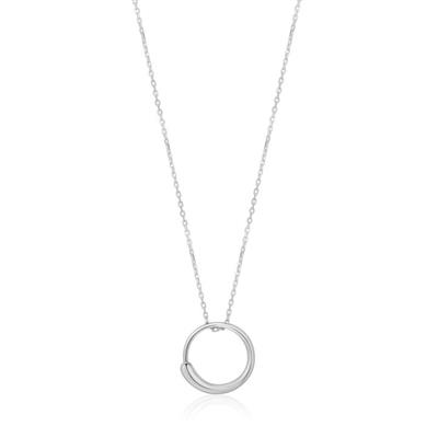 Buy Ania Haie Luxe Minimalism Silver Circle Necklace