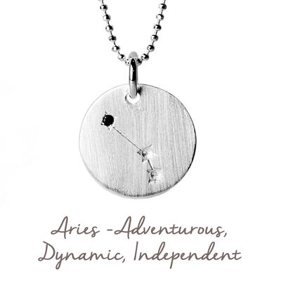 Buy Mantra Aries Star Map in Silver