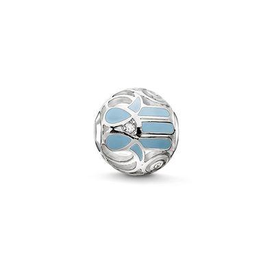 Buy Thomas Sabo Sky Blue Hand of Fatima Karma Bead